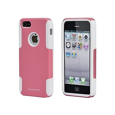Monoprice® Dual Guard PC With Silicone Case For iPhone 5/5s, Bubblegum