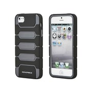 Monoprice® Armored Case For iPhone 5/5s, Metallic Gray