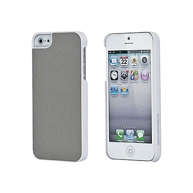 Monoprice® Slim Grain Case For iPhone 5/5S, Gray