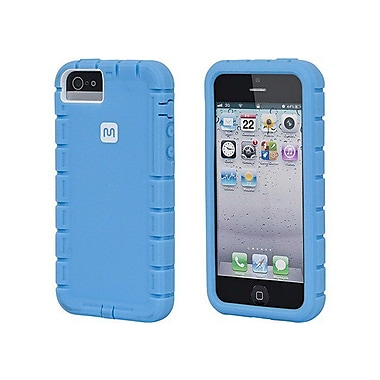 Monoprice® Traxx-Shield Case For iPhone 5/5s, Blue