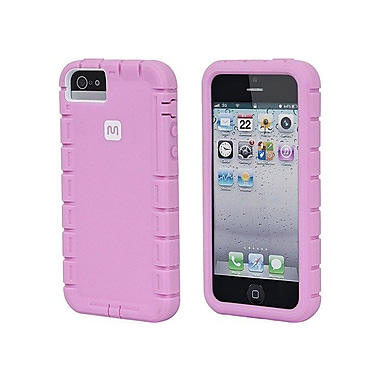 Monoprice® Traxx-Shield Case For iPhone 5/5s, Pink