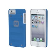 Monoprice® Industrial Metal Mesh Guard Case For iPhone 5/5s, Blue