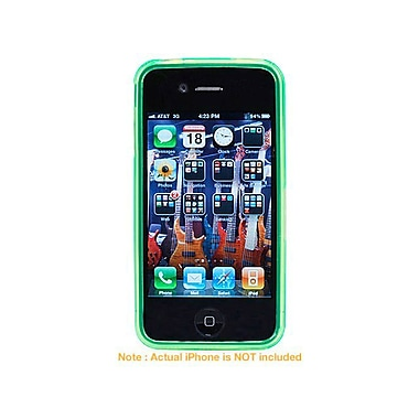 Monoprice® TPU Case For iPhone 4, Green