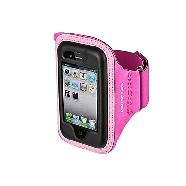 Monoprice® Neoprene Sports Armband For iPhone 5/5s/5c, Large/XL, Pink