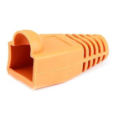 Monoprice® RJ-45 Color Coded Strain Relief Boot, Orange
