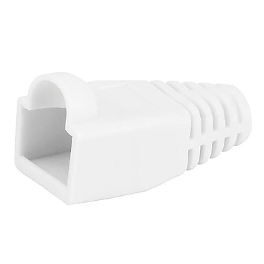 Monoprice® RJ-45 Color Coded Strain Relief Boot, White