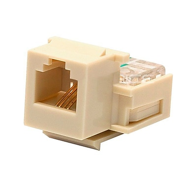 Monoprice® RJ-11 Toolless Keystone Jacks
