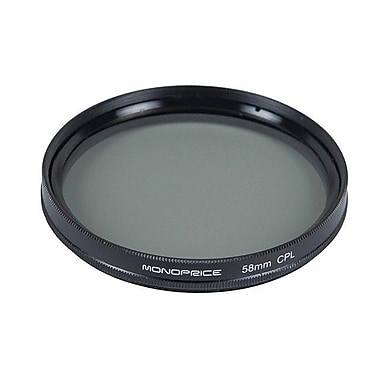 Monoprice® 58 mm CPL Filter