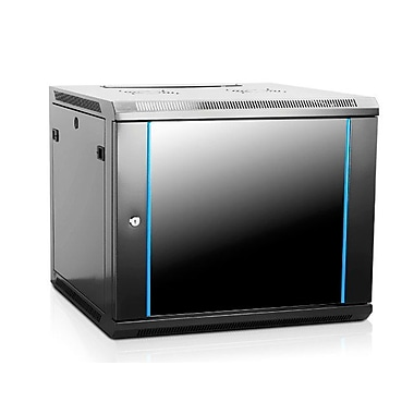 Monoprice® 600 mm Wallmount Server Cabinet, 9U