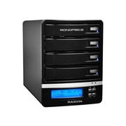 Monoprice® 4-Bay 16TB NAS Enclosure With RAID/DLNA/FTP