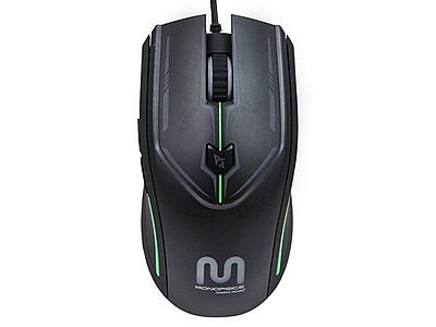 Monoprice® 6-Key Gaming Mouse With Comfort Grip