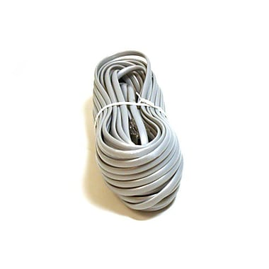 Monoprice® 935 Straight Phone Cable, 50'