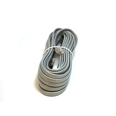 Monoprice® 942 Straight Phone Cable, 25'