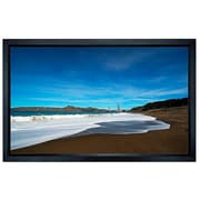 "Monoprice® 107955 106"" Fixed Frame Projection Screen, 16:9, Black Aluminum Casing"