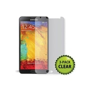 Monoprice® Screen Protector With Cleaning Cloth For Samsung Galaxy Note 3, Transparent Finish