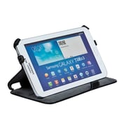 """Monoprice® Duo Case and Stand For Samsung Galaxy Tab 3 - 7"""", Black"""