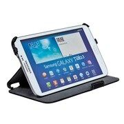 """Monoprice® Duo Case and Stand For Samsung Galaxy Tab 3 - 8"""", Black"""