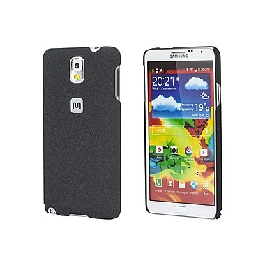 Monoprice® Polycarbonate Case With Soft Sand Finish For Samsung Galaxy Note 3, Pumice Black