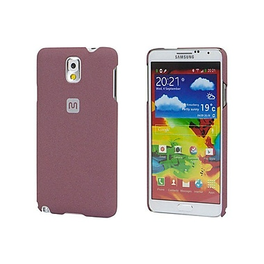 Monoprice® Polycarbonate Case With Soft Sand Finish For Samsung Galaxy Note 3, Brick Red