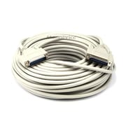 Monoprice® 100' DB25 Male to Male Molded Serial Cable
