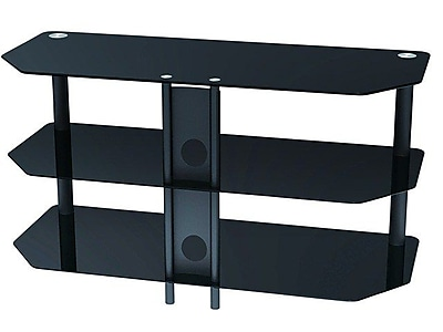 Monoprice® 110903 High Quality TV Stand For Flat Panel TVs Up to 42