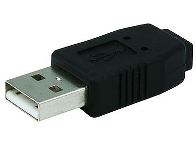 Monoprice® USB 2.0 A Male to Mini 5 pin Female Adapter