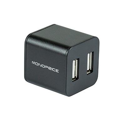 Monoprice® 4 Port USB 2.0 Cube Hub, Black
