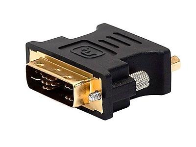 Monoprice 102396 DVI-A Dual-Link to (HD-15) VGA Adapter, Black