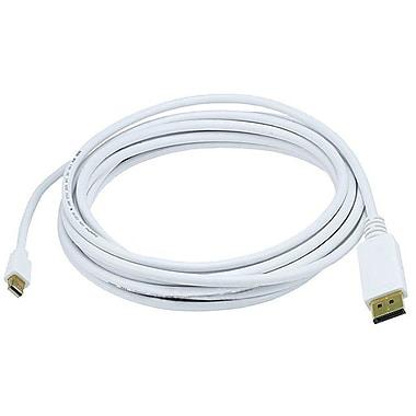 Monoprice 106009 15' Mini DisplayPort to DisplayPort Cable, White