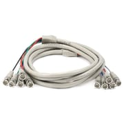 Monoprice® 10' 5 Pin BNC RGB to 5 Pin BNC RGB Video Cable, Beige