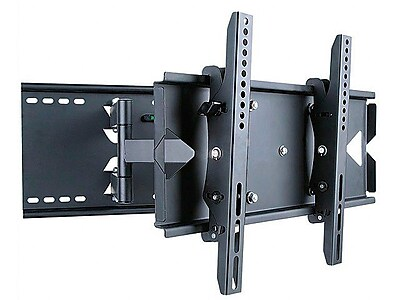 """""Monoprice 108589 Adjustable Tilting TV Wall Mount Bracket For 23""""""""-37"""""""" Display Up to 130 lbs., Black"""""" 1255806"