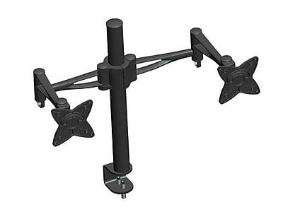 Monoprice® 105560 3 Way Dual Desk Mount Bracket For 10