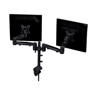 Monoprice® 107564 Dual Monitor Desk Mount Bracket For 15