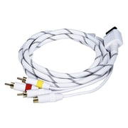 Monoprice® 105691 AV Cable With Composite/S-Video/Stereo Audio For Wii/Wii U