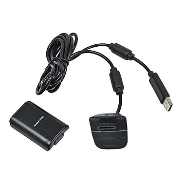 Monoprice® 110199 Play and Charge Pack Kit For Xbox 360