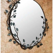 Quiescence Aspen Mirror; Silver Shimmer