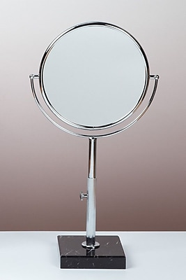 Bissonnet Kosmetic Astoria Makeup Mirror; Polished Chrome