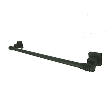 Elements of Design Fortress 18'' Wall Mounted Towel Bar; Oil Rubbed Bronze