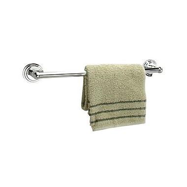 Dynasty Hardware Newport Single 24'' Wall Mounted Towel Bar; Polished Chrome