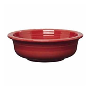 Fiesta Serving Bowl; Scarlet