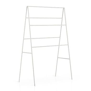 WS Bath Collections Complements Ranpin Free Standing Towel Stand; White