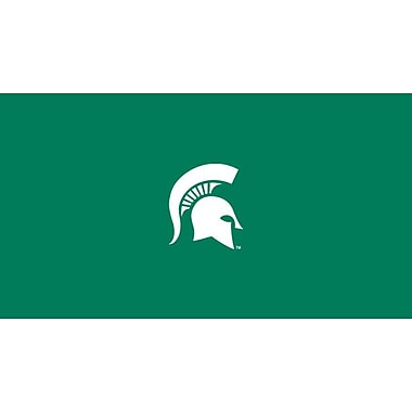 Imperial NCAA 8' Billiard Cloth; Michigan State
