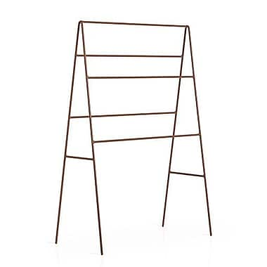 WS Bath Collections Complements Ranpin Free Standing Towel Stand; Rust