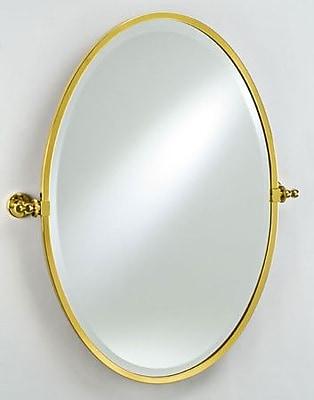 Afina Radiance Gear Tilt Mirror; Polished Chrome