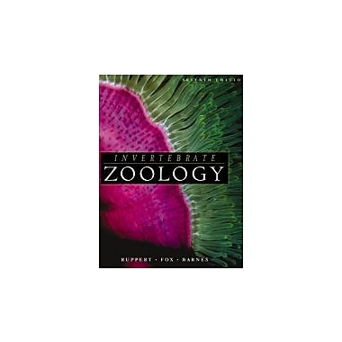 Invertebrate Zoology: A Functional Evolutionary Approach, New Book (9780030259821)