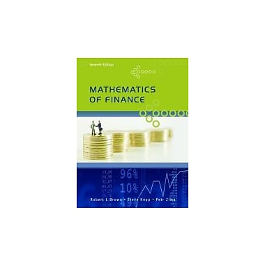Mathematics of Finance, Seventh Edition, New Book (9780070000186)