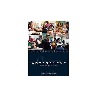 Classroom Assessment: Concepts and Applications, New Book (9780070005556)