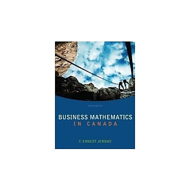 Business Mathematics In Canada, Used Book (9780070009899)