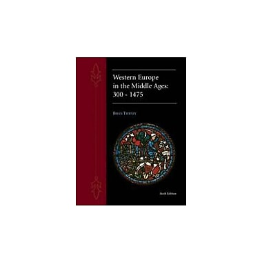 Western Europe in the Middle Ages 300-1475, New Book (9780070648432)