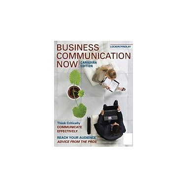 Business Communication NOW, Used Book (9780070780415)